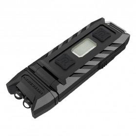 NITECORE Thumb LEO Senter LED USB Rechargeable 45 Lumens UV Light - Black - 2