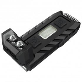 NITECORE Thumb LEO Senter LED USB Rechargeable 45 Lumens UV Light - Black - 5