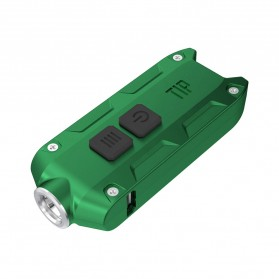 NITECORE TIP Senter LED Mini USB Rechargeable Cree XP-G2 S3 360 Lumens - Green