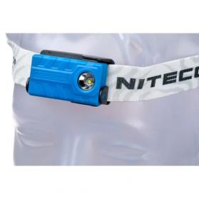 NITECORE NU20 Headlamp CREE XP-G2 S3 360 Lumens - Blue