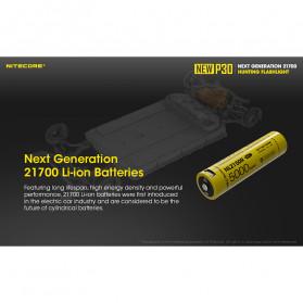 NITECORE New P30 Senter LED Cree XP-L HI V3 1000 Lumens - Black - 5