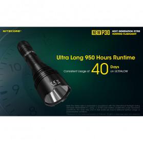 NITECORE New P30 Senter LED Cree XP-L HI V3 1000 Lumens - Black - 7