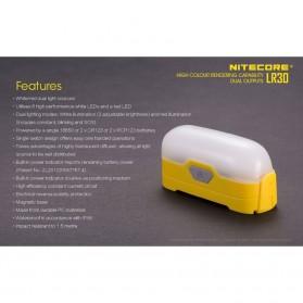 NITECORE Lampu Gantung LED LR30 205 Lumens - Yellow - 7