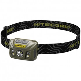 NITECORE NU30 Headlamp CREE XP-G2 S3 400 Lumens - Army Green