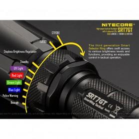 NITECORE SRT7GT Senter LED CREE XP-L HI V3 1000 Lumens - Black - 5