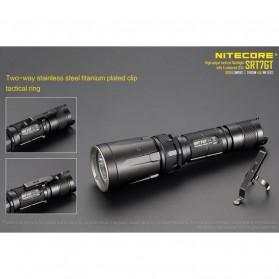 NITECORE SRT7GT Senter LED CREE XP-L HI V3 1000 Lumens - Black - 6