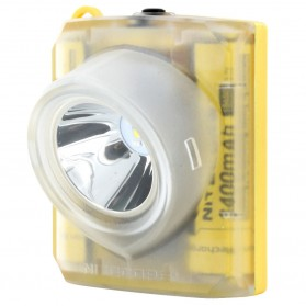 NITECORE EH1 Headlamp Senter LED CREE XP-G2 S3 260 Lumens - Yellow - 2