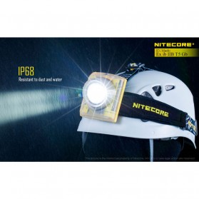 NITECORE EH1 Headlamp Senter LED CREE XP-G2 S3 260 Lumens - Yellow - 7