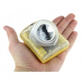 NITECORE EH1S Headlamp Senter LED CREE XP-G2 S3 260 Lumens - Yellow - 3