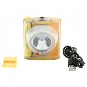 NITECORE EH1S Headlamp Senter LED CREE XP-G2 S3 260 Lumens - Yellow - 4