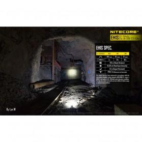 NITECORE EH1S Headlamp Senter LED CREE XP-G2 S3 260 Lumens - Yellow - 5