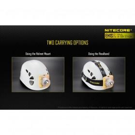 NITECORE EH1S Headlamp Senter LED CREE XP-G2 S3 260 Lumens - Yellow - 6