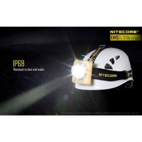 NITECORE EH1S Headlamp Senter LED CREE XP-G2 S3 260 Lumens - Yellow - 7