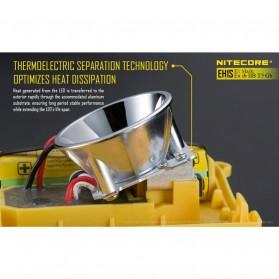 NITECORE EH1S Headlamp Senter LED CREE XP-G2 S3 260 Lumens - Yellow - 8