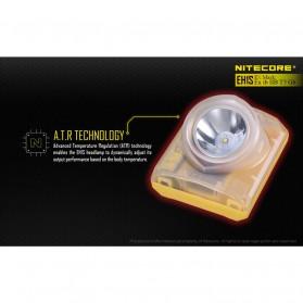 NITECORE EH1S Headlamp Senter LED CREE XP-G2 S3 260 Lumens - Yellow - 9