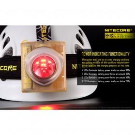 NITECORE EH1S Headlamp Senter LED CREE XP-G2 S3 260 Lumens - Yellow - 10