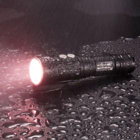 Nitecore Diving Light Senter LED CREE XP-L HI V3 1000 Lumens - DL10 - Black - 2
