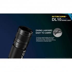 Nitecore Diving Light Senter LED CREE XP-L HI V3 1000 Lumens - DL10 - Black - 5