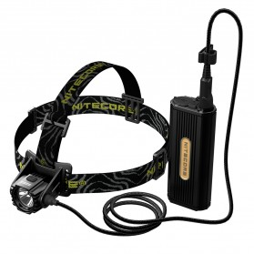 Nitecore Senter Kepala Headlamp LED CREE XM-L2 U2 1000 Lumens - HC70 - Black
