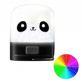NITECORE Panda Edition Rechargeable Pocket Camping Lantern - LR10 - Black