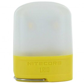 NITECORE USB Rechargeable Pocket Camping Lantern - LR10 - Yellow
