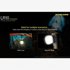 NITECORE USB Rechargeable Pocket Camping Lantern - LR10 - Yellow - 5
