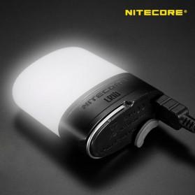 NITECORE USB Rechargeable Pocket Camping Lantern - LR10 - Black - 3