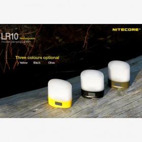 NITECORE USB Rechargeable Pocket Camping Lantern - LR10 - Black - 6