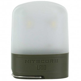NITECORE Rechargeable Pocket Camping Lantern - LR10 - Army Green