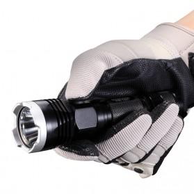 NITECORE P16TAC Senter Tactical LED CREE XM-L2 (U3) 1000 Lumens - Black - 5