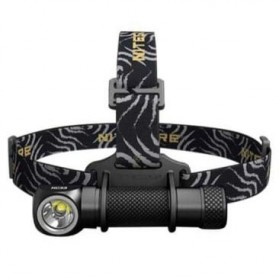 NITECORE HC33 Headlamp Senter LED CREE XHP35 HD 1800 Lumens - Black
