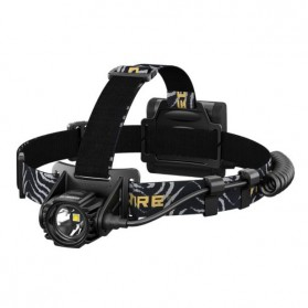 NITECORE HA40 Headlamp Senter LED CREE XM-L2 U2 1000 Lumens - Black