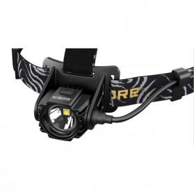 NITECORE HA40 Headlamp Senter LED CREE XM-L2 U2 1000 Lumens - Black - 4