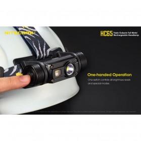 Nitecore HC65 Headlamp Series CREE XM-L2 U2 1000 Lumens - Black - 2