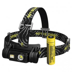 Nitecore HC65 Headlamp Series CREE XM-L2 U2 1000 Lumens - Black - 3