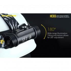Nitecore HC65 Headlamp Series CREE XM-L2 U2 1000 Lumens - Black - 4
