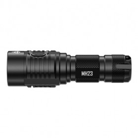 NITECORE MH23 Senter LED CREE XHP35 HD 1800 Lumens - Black - 3