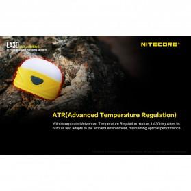 NITECORE Lampu Bi-fuel Pocket Camping Lantern - LA30 - Yellow - 9