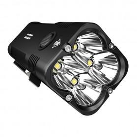 NITECORE Concept 2 Senter LED CREE XHP35 HD 6500 Lumens - Black - 4