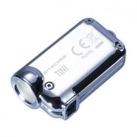 NITECORE Tini SS Tropical Senter LED CREE XP-G2 S3 380 Lumens - Silver