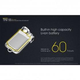 NITECORE Tini SS Tropical Senter LED CREE XP-G2 S3 380 Lumens - Multi-Color - 2