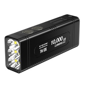 NITECORE TM10K Tiny Monster Senter LED CREE XHP35 HD 10000 Lumens - Black