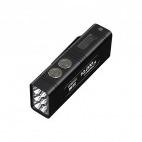 NITECORE TM10K Tiny Monster Senter LED CREE XHP35 HD 10000 Lumens - Black - 2