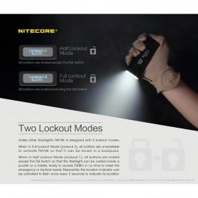 NITECORE TM10K Tiny Monster Senter LED CREE XHP35 HD 10000 Lumens - Black - 5