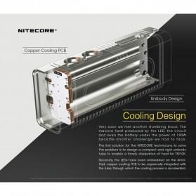 NITECORE TM10K Tiny Monster Senter LED CREE XHP35 HD 10000 Lumens - Black - 9