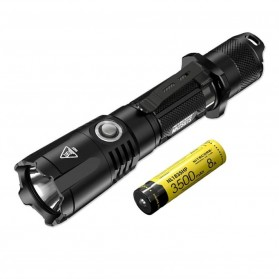 NITECORE MH25GTS Senter LED CREE XHP35 HD 1800 LUMENS - Black - 4