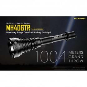NITECORE MH40GTR Senter LED CREE XP-L HI V3 1200 Lumens - Black - 9