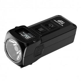NITECORE TUP Senter LED Mini USB Rechargeable Cree XP-L HD V6 1000 Lumens - Gray - 3
