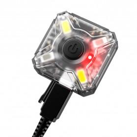 NITECORE NU05 Lightweight Headlamp Mate 35 Lumens - Black - 4