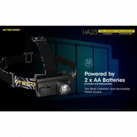 NITECORE HA23 Headlamp Senter Kepala LED CREE XP-G2 S3 250 Lumens - Black - 4